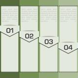 Elementos de Infographic Foto de archivo libre de regalías