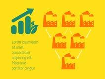 Elementos de Infographic. Foto de archivo libre de regalías