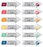 Elementos de Infographic Imagen de archivo