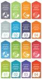 Elementos de Infographic #13 Imágenes de archivo libres de regalías