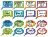 Elementos de Infographic #18 Fotografía de archivo libre de regalías