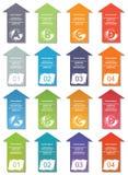 Elementos de Infographic #17 Imagen de archivo libre de regalías