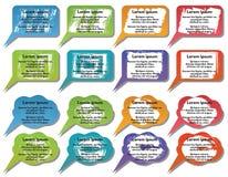 Elementos de Infographic Imágenes de archivo libres de regalías