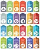 Elementos de Infographic #22 Imagen de archivo libre de regalías