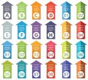Elementos de Infographic #24 Imagen de archivo libre de regalías