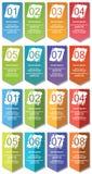 Elementos de Infographic #25 Foto de Stock Royalty Free