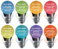 Elementos de Infographic #30 Imagenes de archivo