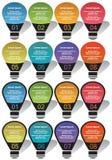 Elementos de Infographic #29 Imagen de archivo libre de regalías