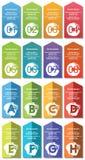 Elementos de Infographic #33 Imágenes de archivo libres de regalías