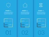 Elementos de Infographic Foto de Stock Royalty Free