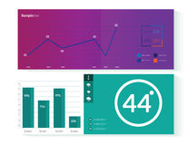 Elementos de Infographic Fotos de Stock Royalty Free