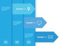 Elementos de Infographic Fotografia de Stock