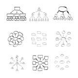 Elementos de Infographic ilustración del vector