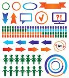 Elementos de infographic ilustração royalty free