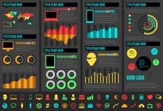 Elementos de Infographic de la industria de IT libre illustration