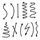 Elementos de Infographic en fondo aislado Elemento del dise?o Página negra de las flechas del color Indicadores abstractos Rebecc ilustración del vector