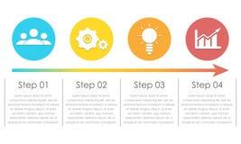 Elementos de Infographic Pode ser usado para a carta, o folheto, o diagrama e o design web Imagens de Stock Royalty Free