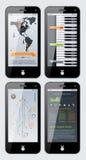 Elementos de Infographics Foto de Stock Royalty Free