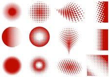 Elementos de intervalo mínimo Imagem de Stock