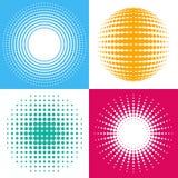 Elementos de intervalo mínimo do projeto Imagem de Stock Royalty Free