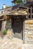 Elementos de la arquitectura de piedra en Lovech, Bulgaria Imágenes de archivo libres de regalías