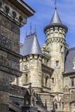 Elementos de la arquitectura en el estilo gótico Fotos de archivo libres de regalías