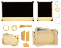 Elementos de la colección para scrapbooking Imagenes de archivo