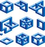 Elementos de la construcción Imágenes de archivo libres de regalías