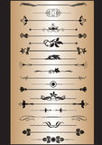 Elementos de la decoración libre illustration