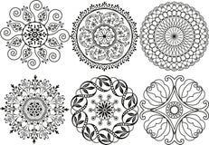 Elementos de la decoración del vector Imagenes de archivo