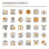 Elementos de la ingeniería libre illustration