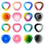 Elementos de la insignia Foto de archivo libre de regalías