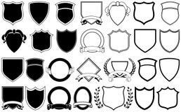 Elementos de la insignia Imagen de archivo libre de regalías