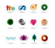 Elementos de la insignia del diseño Foto de archivo libre de regalías