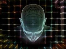 Elementos de la mente ilustración del vector