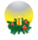 Elementos de la Navidad Fotos de archivo
