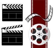 Elementos de la película Fotografía de archivo libre de regalías