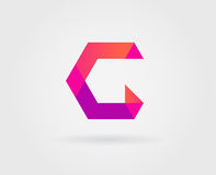 Elementos de Logo Letter Icon Design Template en vector Foto de archivo