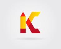 Elementos de Logo Letter Icon Design Template en vector Fotos de archivo libres de regalías