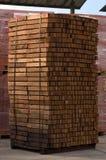 Elementos de madeira Imagens de Stock Royalty Free