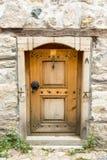 Elementos de madera de Smale del casa-museo en Koprivshtitsa, Bulgaria Foto de archivo