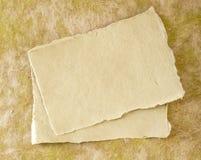 Elementos de papel para la tarjeta Fotos de archivo