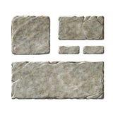 Elementos de piedra del interfaz