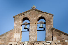 Elementos de Sardinia.Bell-gable Foto de archivo