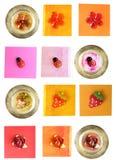 Elementos de Scrapbooking Imagen de archivo libre de regalías