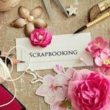 Elementos de Scrapbooking fotos de stock royalty free