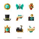 Elementos de Steampunk Fotografia de Stock Royalty Free