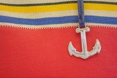 Elementos de temas marinhos Imagens de Stock Royalty Free