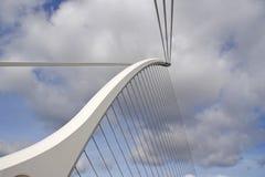 Elementos de uma ponte moderna Fotos de Stock Royalty Free