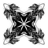 Elementos de Zentangle para o projeto Foto de Stock Royalty Free